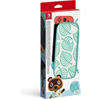 Switch Carry Case (Animal Crossing: New Horizons Ed.) & Screen Protector - Nintendo Switch
