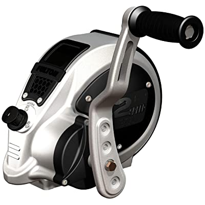 Fulton FW32000101 F2 Two-Speed Trailer Winch with Strap - 3200 lb. Load Capacity - Silver And Black - one size: Automotive