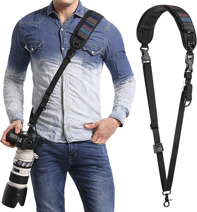 Lanyard Style Adjustable with Quick-Release. Nikon Coolpix S5200 Neck Strap