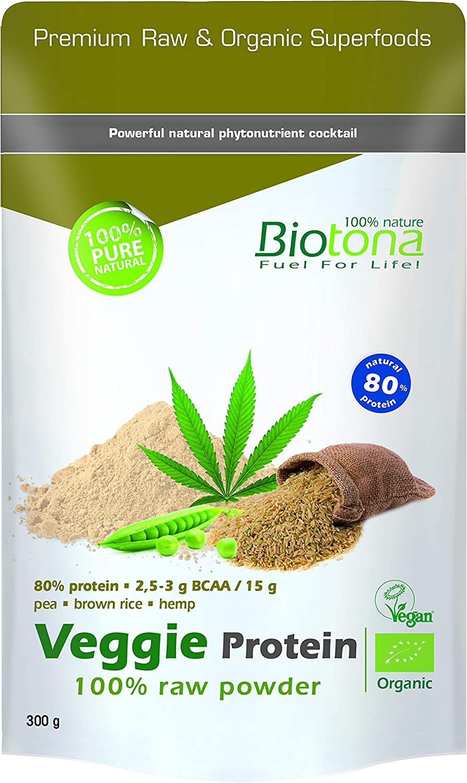 Biotona Bio Veggie Protein Raw Superfood - 300 gr