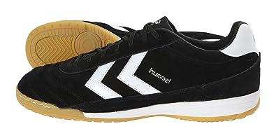 32272373b Hummel Unisex - Adult OLD SCHOOL DK FUTSAL SUEDE Football Shoes Black  Schwarz (BLACK