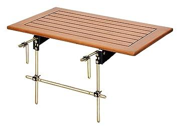 Elegant Landmann Minoa 255579 Balcony Railing Table