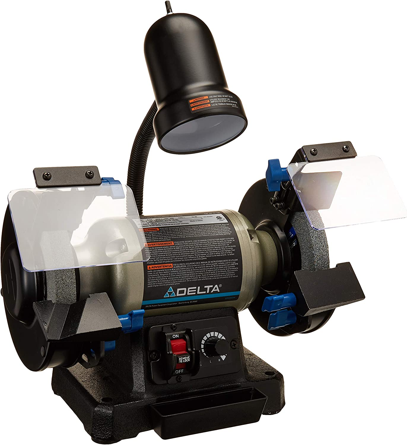 Delta Power Tools 6-Inch Variable Speed Bench Grinder