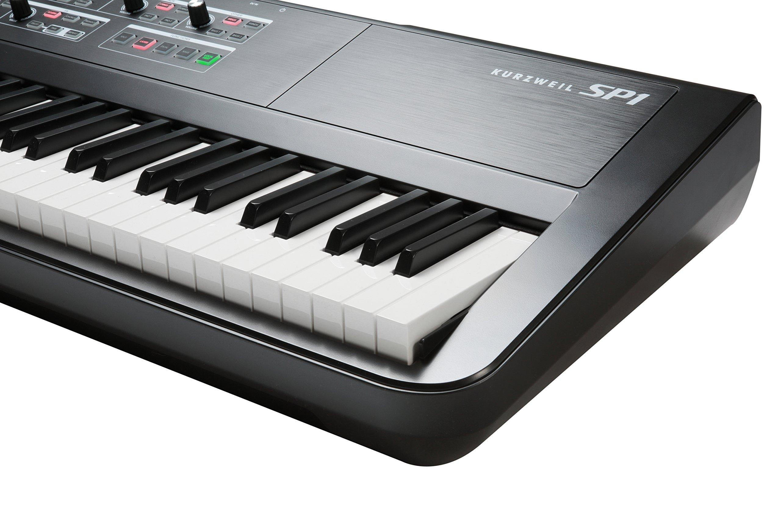 Kurzweil SP1 88-Key Stage Piano, Black (SP1-LB) by Kurzweil (Image #3)