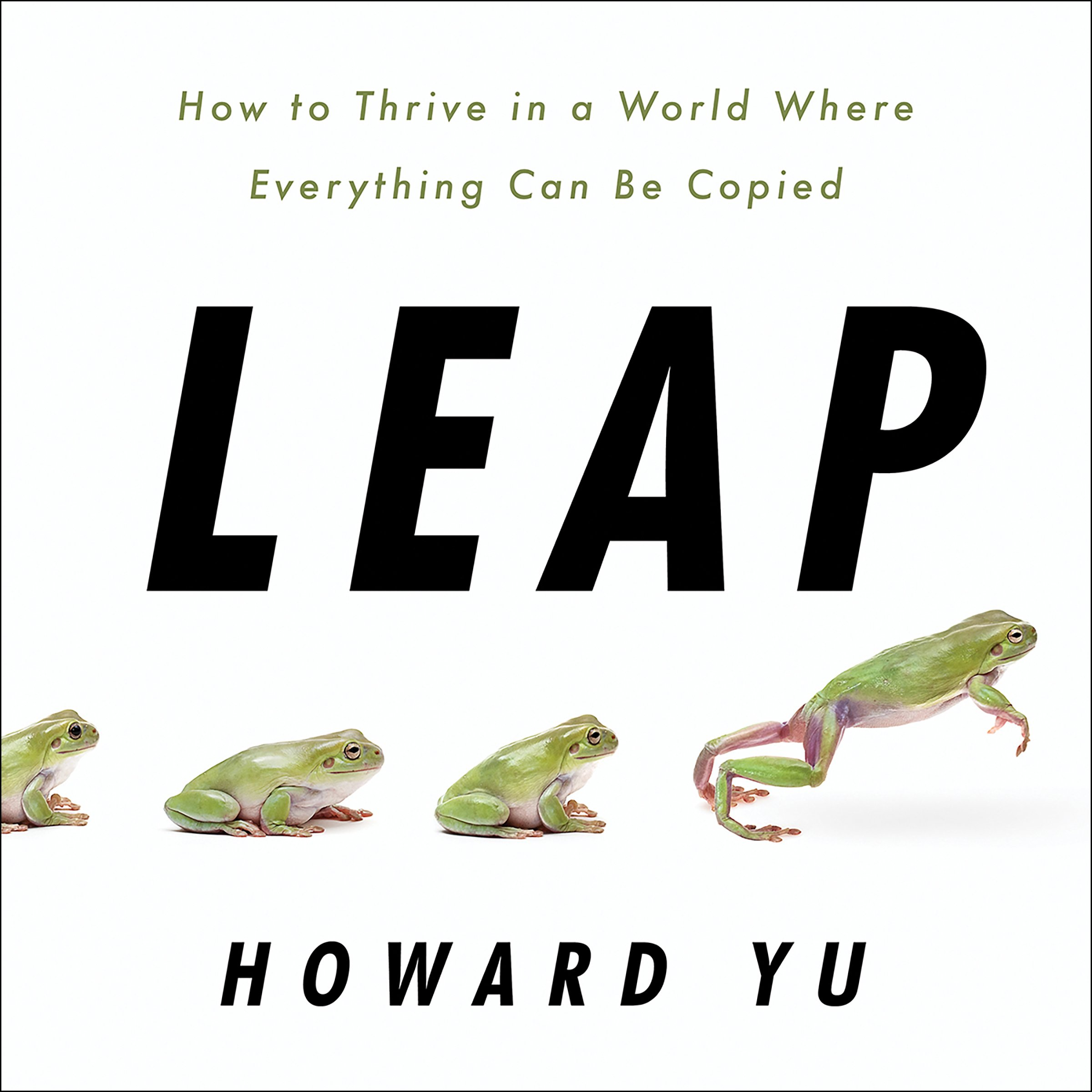 Leap  How To Thrive In A World Where Everything Can Be Copied