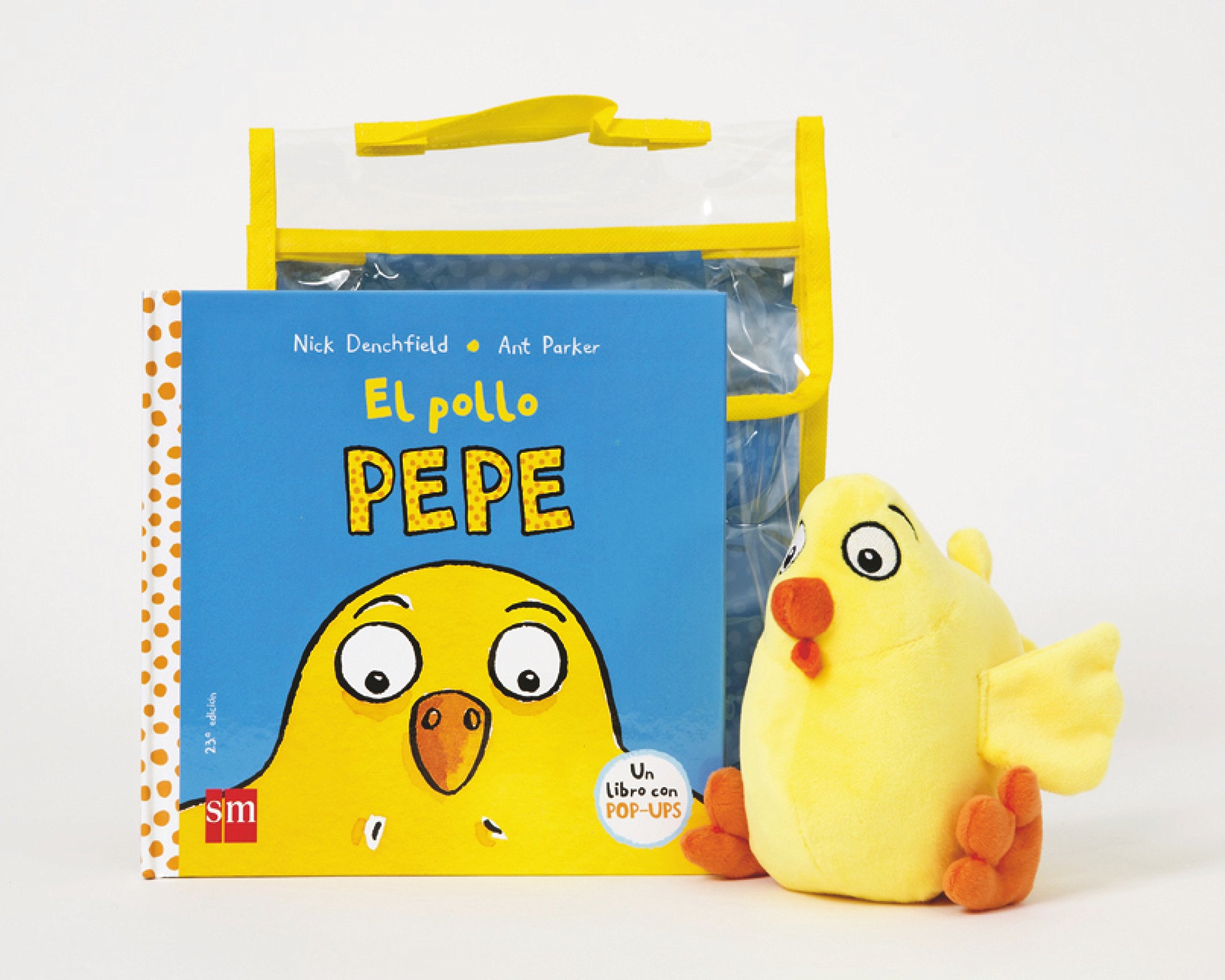 El Pollo Pepe + muñeco (Spanish Edition): Nick Denchfield, Ant Parker: 9788467559163: Amazon.com: Books