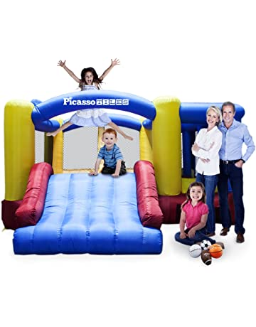 2b88fd5e0 Amazon.com  Inflatable Bouncers  Toys   Games