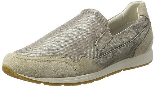 Geox D Wisdom A, Zapatillas para Mujer: Amazon.es: Zapatos y complementos