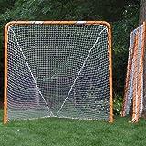 Delicieux EZGoal Lacrosse Folding Goal, 6 X 6 Feet, Orange