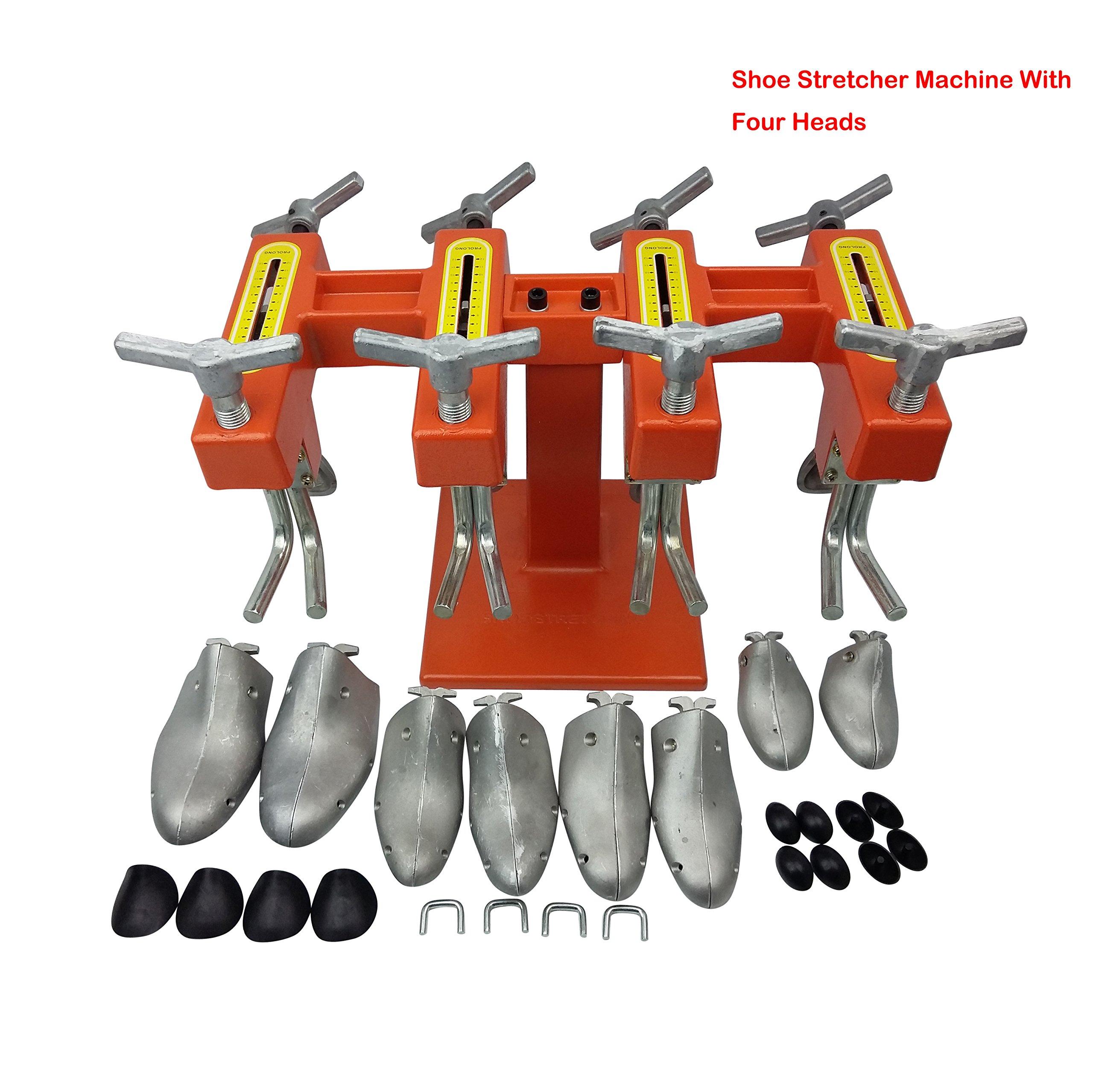 Four Heads Shoe Stretcher Expander Machine Shoe Repair Machine