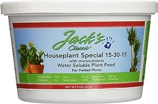 product image for J R Peters Inc Jacks 51508 Classic 15-30-15 Houseplant Special Fertilizer, 8-Ounce