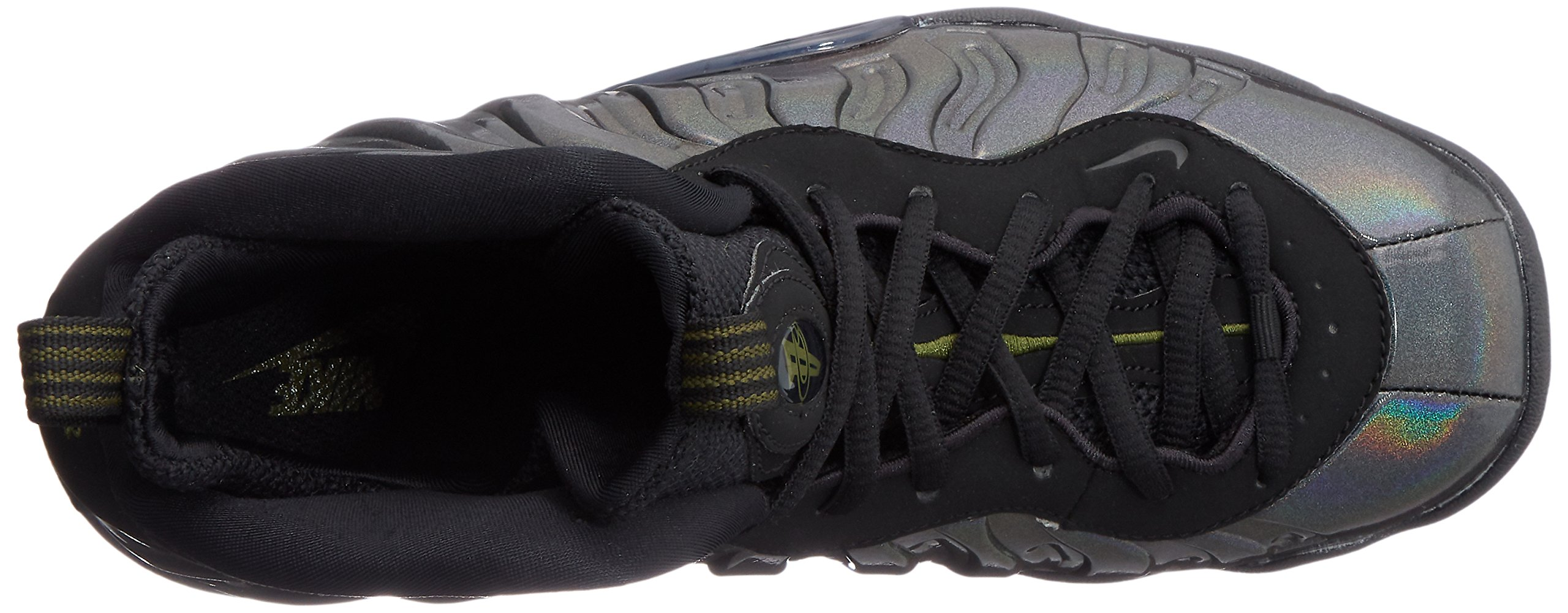 Nike Little Posite One (GS) 644791-301 Legion Green/Black Kids Shoes (6Y) by Nike (Image #8)