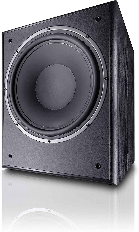 Magnat Monitor Supreme Sub 302 A I Aktiver Frontfire Bassreflex Subwoofer Mit Hoher Klangqualität I 1 Stück Farbe Schwarz Audio Hifi