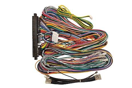81pbcBcQL9L._SX463_ amazon com jamma board standard cabinet wiring harness loom for