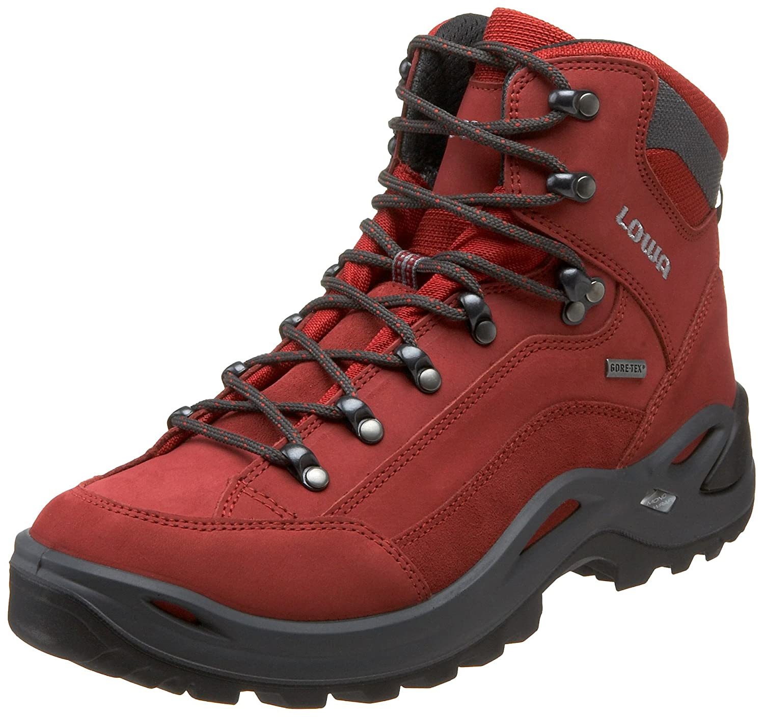 Lowa Women's Renegade GTX Mid Hiking Boot B0042ANBO6 6 B(M) US|Red
