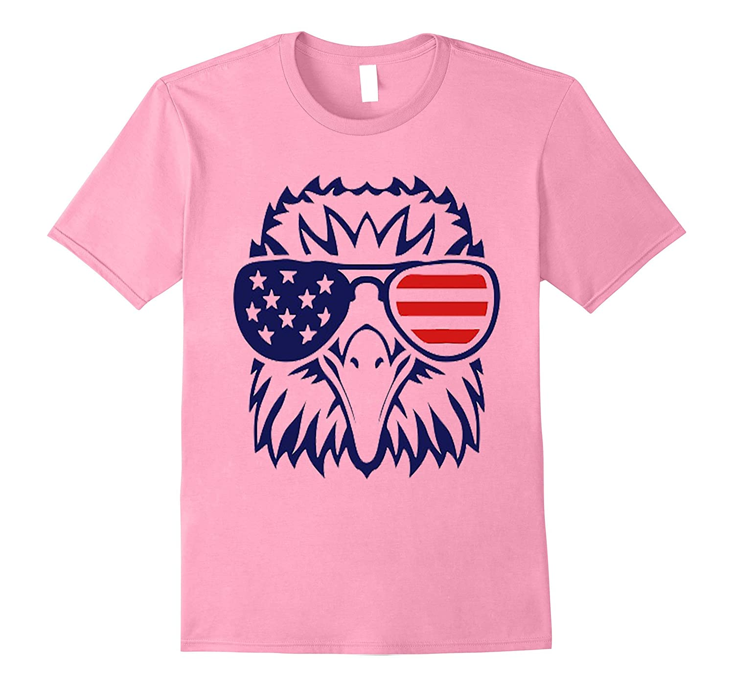 4th july American eagle flag- Independence Day t shirt-Art