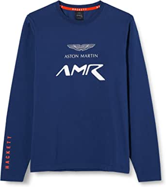 Hackett London Amr Logo tee LS Y Camiseta para Niños