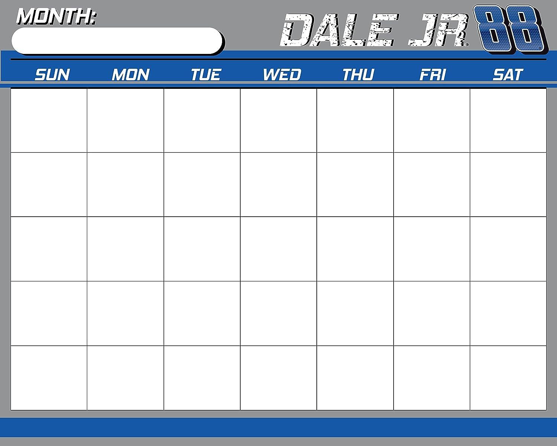 Nascar 88 Dale Earnhardt Jr 16 X 20 Dry Erase Calendar New For