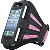 Insten Sports Gym Workout Armband Case Holder for iPod touch 1/2G/3G (Pink)
