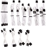 Corsair Premium Individually Sleeved DC Cable Pro Kit, Type 4 (Generation 4), White CP-8920224
