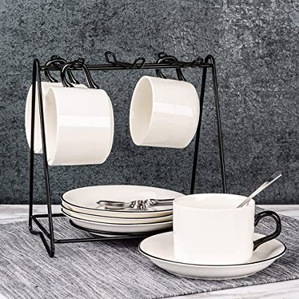 Taza de café Conjunto de Taza de cerámica Europea Creativa Taza de café para el hogar