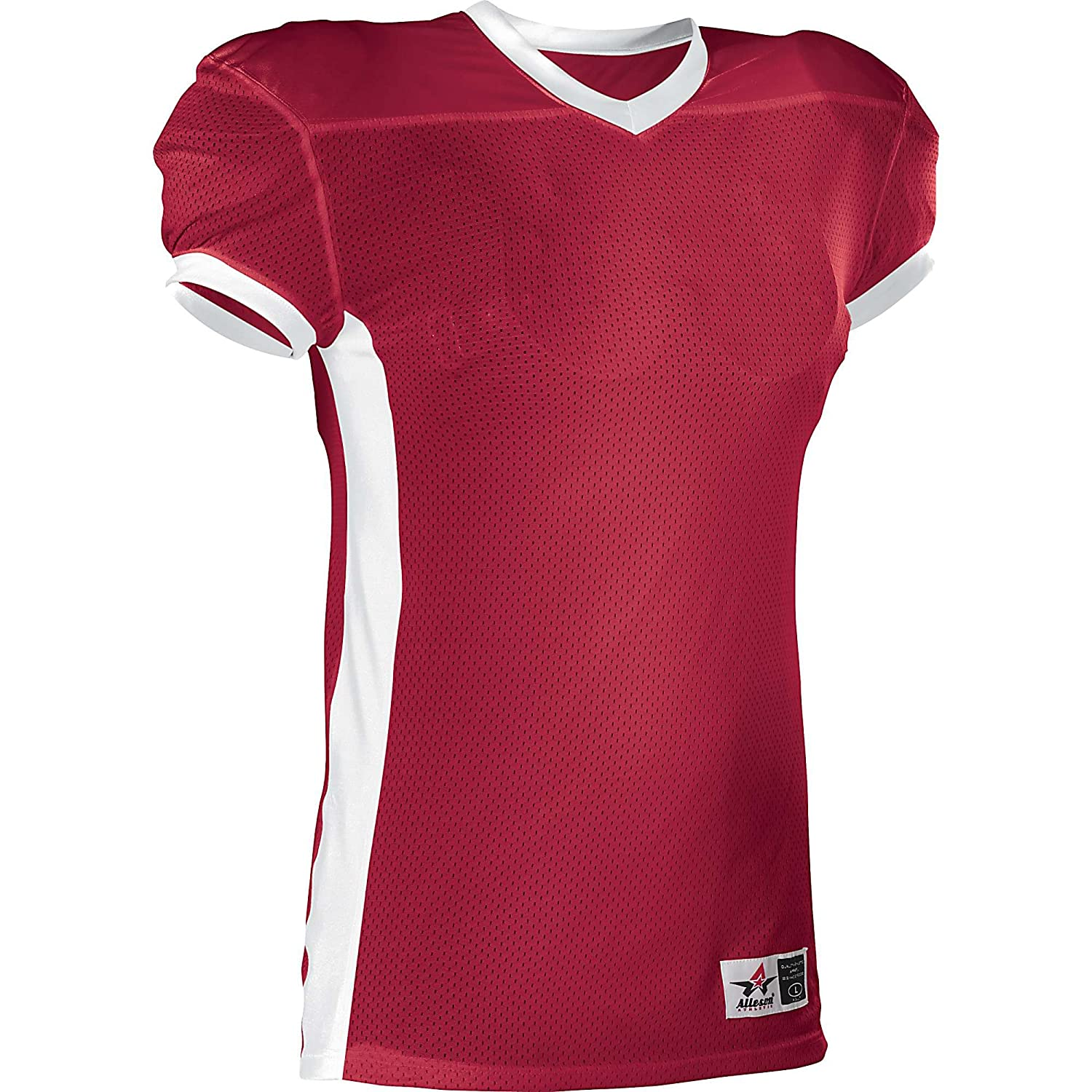 Alleson Youth Football Jersey B00FFJOMH8 レッド Small