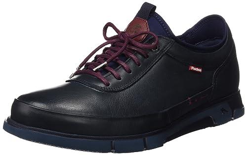 Fluchos- Retail ES Spain Tiger, Zapatos de Cordones Oxford para Hombre, Marrón (Brandy), 44 EU