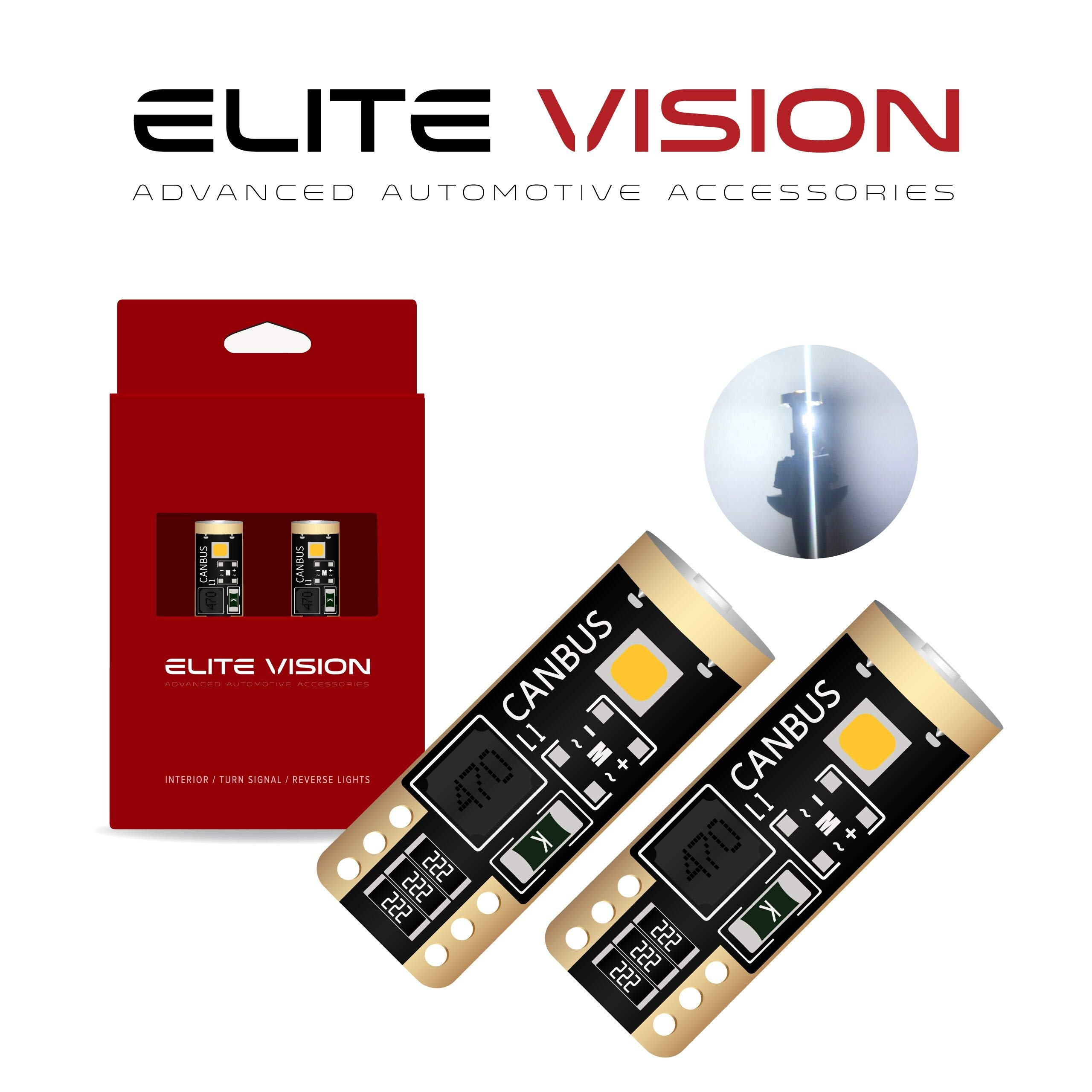 XtremeVision LED Anti Flicker Resistor Decoder Plug and Play Error Free Rubber BA9S 1 Pair
