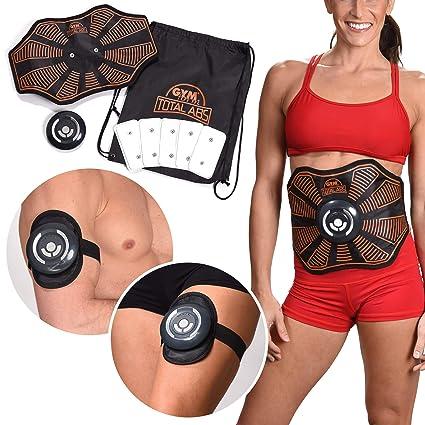 forma elegante sito affidabile disponibilità nel Regno Unito Gymform Total ABS Sport Cintura Elettrostimolatore per Addominali Fitness