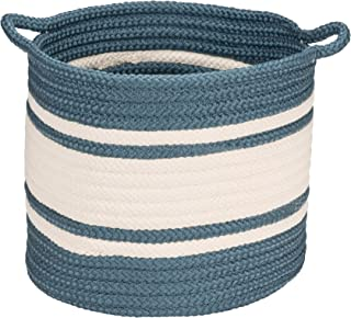 """product image for Colonial Mills Outland Basket, 16""""x16""""x16"""", Blue"""