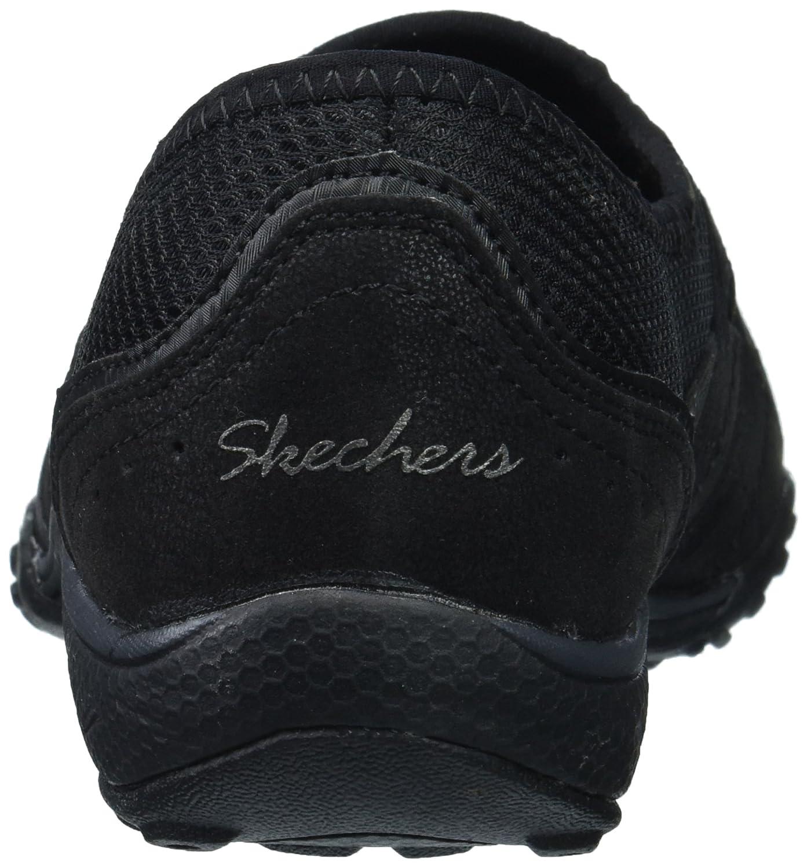 Skechers Skechers Skechers Damen Breathe Easy-Well Versed Slip On Sneaker, beige Schwarz (schwarz) 3d5a9d