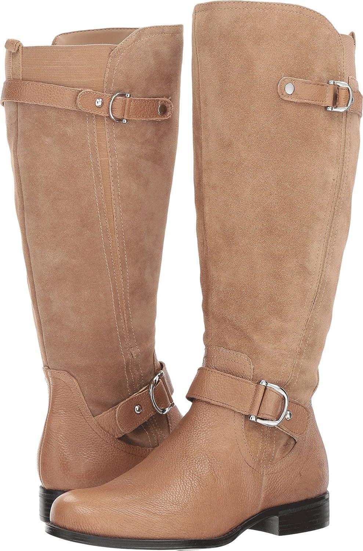 Naturalizer Womens Jenelle Wide Calf B072L3JB7Q 8 B(M) US Oatmeal Leather