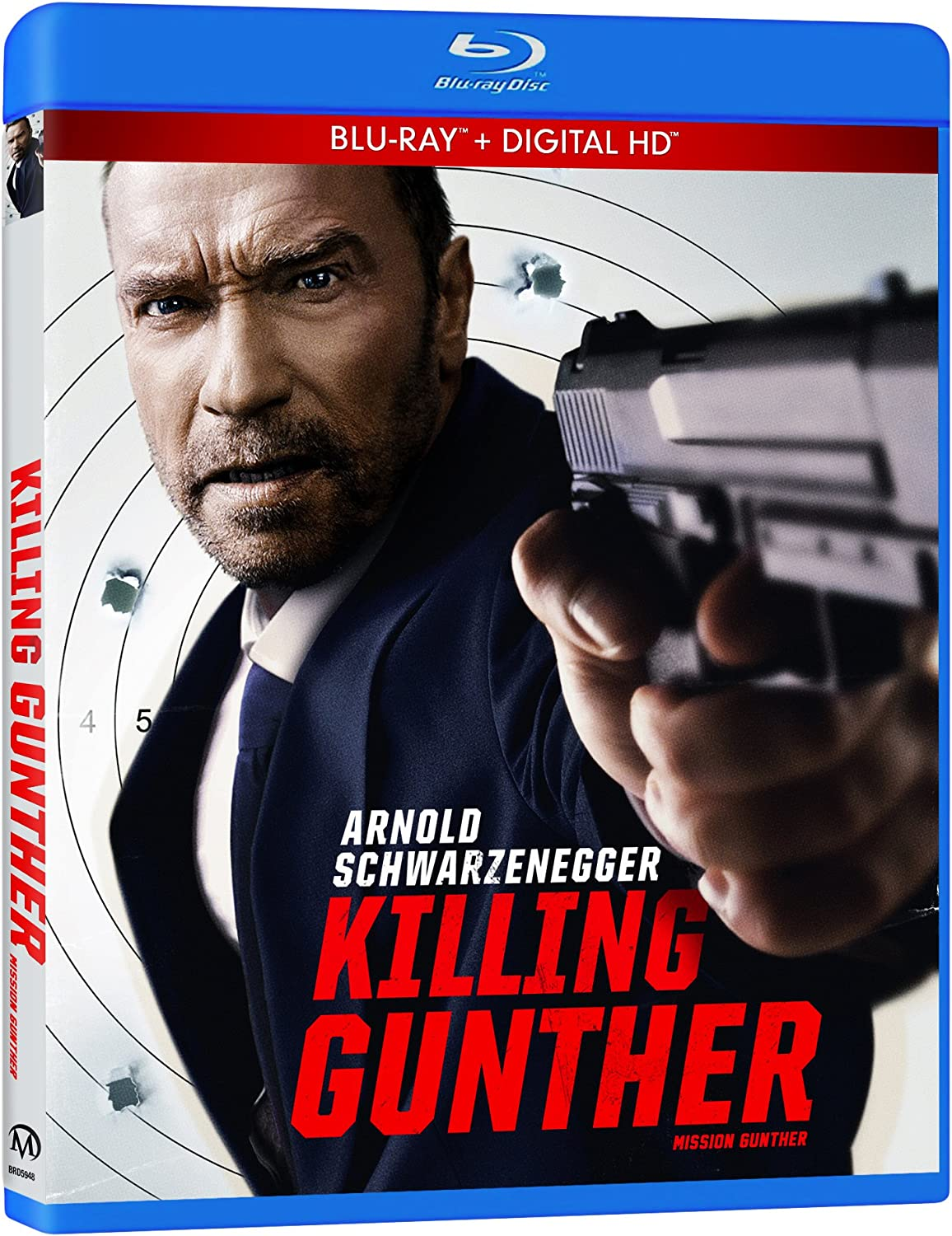 Killing Gunther Mission Gunther Blu-ray + HD Digital Copy ...