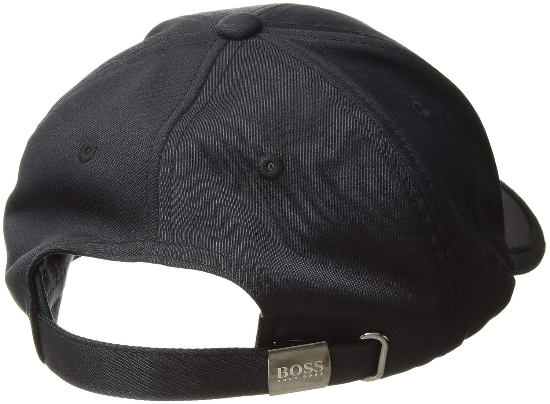 Amazon.com: Hugo Boss BOSS Mens Logo Twill Cap 1, Black One Size: Clothing