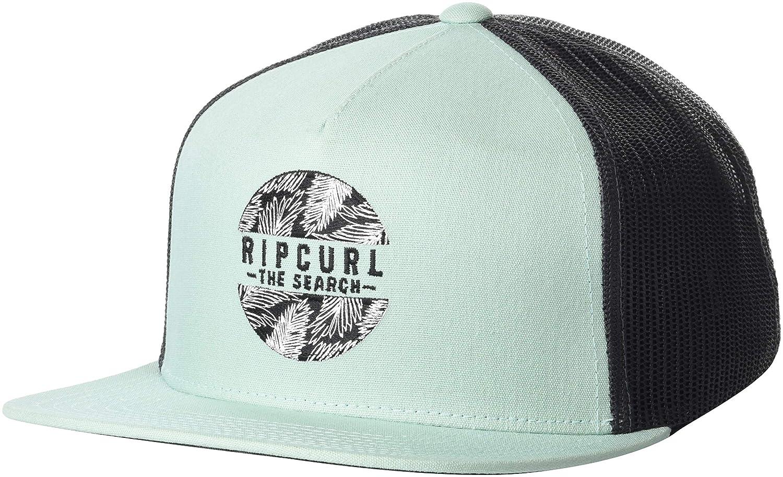 86d33d1fd42e8f Amazon.com: Rip Curl Men's Patch Trucker Mesh Hat, Bolero Aqua, 1SZ:  Clothing