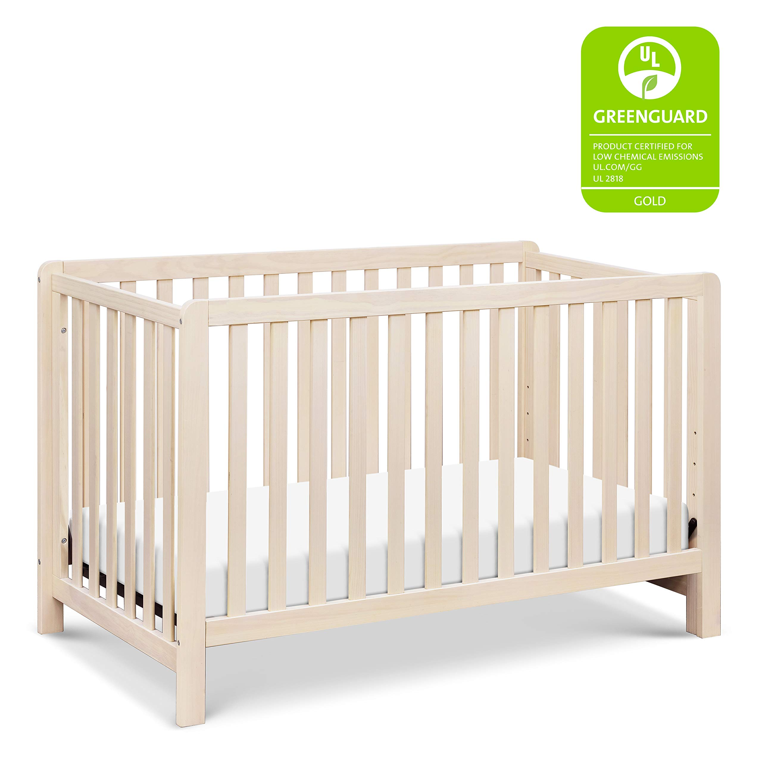 Carter's by DaVinci Colby 4-in-1 Low-Profile Convertible Crib in Washed Natural | Greenguard Gold Certified by Carter's by DaVinci
