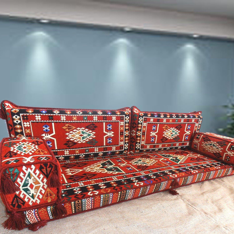Spirit Of 76 Floor Seating Handmade Floor Sofa Set Arabic Majlis Arabic Jalsa Floor Seating Couch Floor Cushions Oriental Floor Seating Hookah Bar Furniture Living Room Decoration Shi Fs246 Amazon Co Uk Kitchen Home