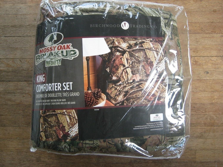 Amazon Com Mossy Oak Break Up Infinity Camouflage Comforter Set
