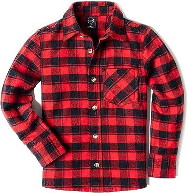 Mens Shirt Brushed Woven Flannel Soft Cotton Long Sleeve Lumberjack Check Shirts