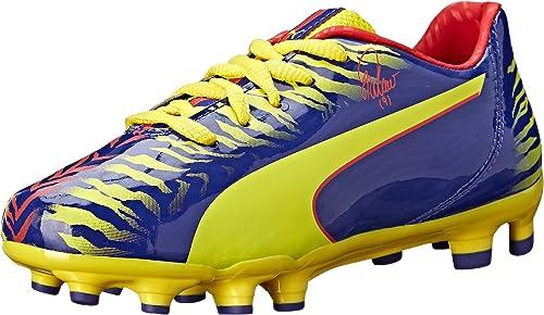 Infant//Toddler//Little Kid//Big Kid PUMA Falcao 9 Firm Ground JR Soccer Shoe