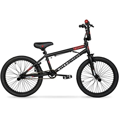 Hyper 20 Nitro Circus BMX Kids' Bike, Matte Black : Sports & Outdoors