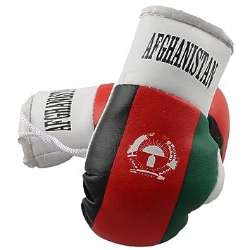 RingMasterUK Mini Boxing Gloves Car Hanger Van Rear Mirror Gift Flags
