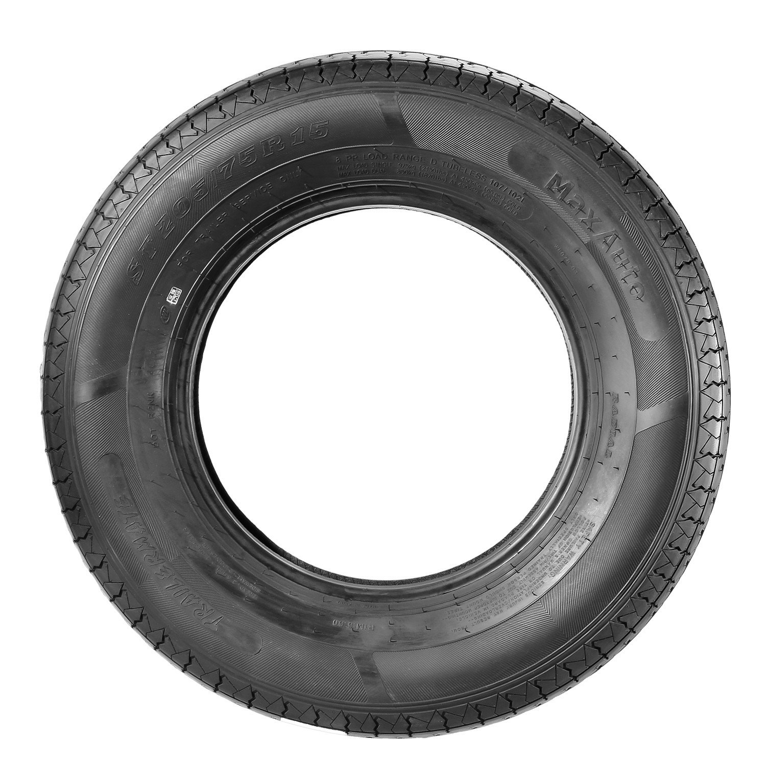 MaxAuto Radial Trailer Tires - ST205/75R15 ST205/75R-15 2057515 8Ply(Pack of 4) by MaxAuto (Image #6)