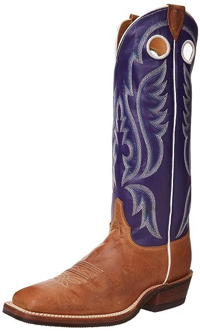ce5decdda Amazon.com | Justin Boots Men's Bent Rail Rubber Sole Boot | Western