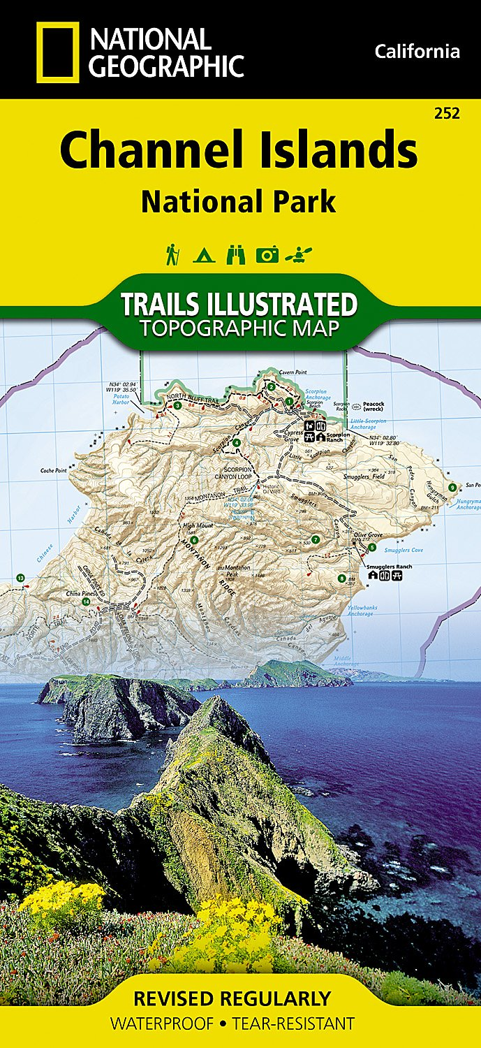 Download Channel Islands National Park (National Geographic Trails Illustrated Map) pdf epub