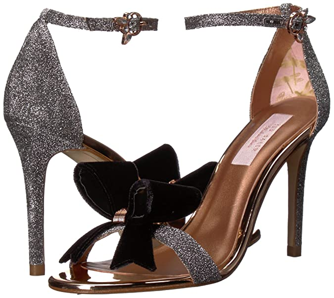 940f65fb4dc Amazon.com  Ted Baker Women s Bowdalo Heeled Sandal  Shoes