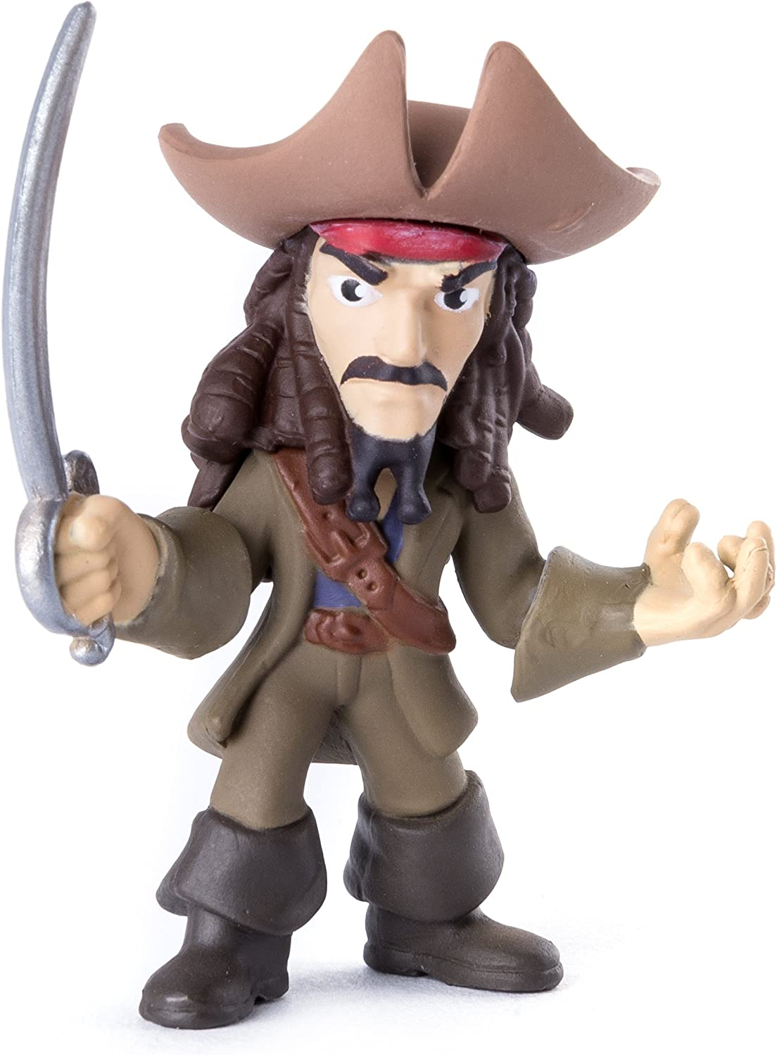 Pirates of the Caribbean: Dead Men Tell No Tales - Pirate Battle Figure - Jack Sparrow