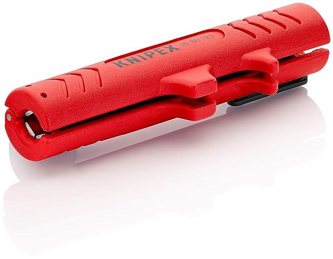 KNIPEX 16 80 125 SB  Utensili Spelacavi, Multicolore