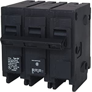 Q345 45-Amp Three Pole Type QP Circuit Breaker