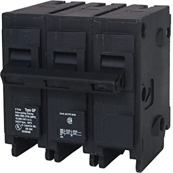 Q340 40-Amp Three Pole Type QP Circuit Breaker